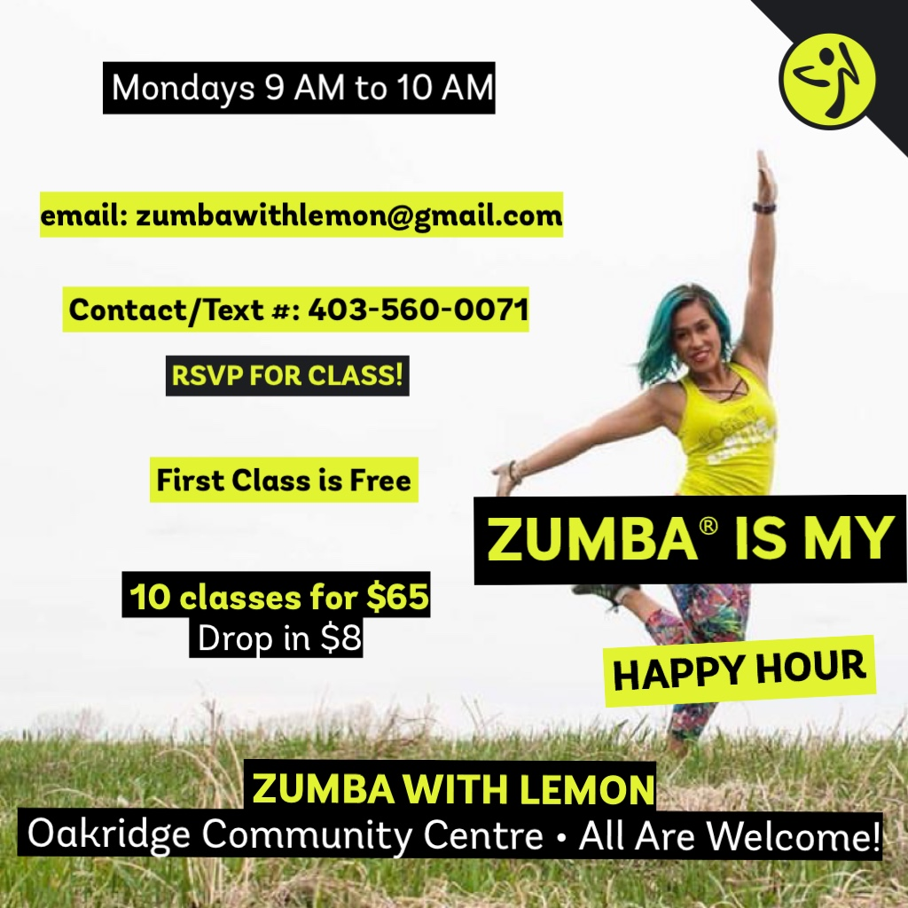 Zumba with Lemon!